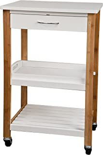 Danya B. Kitchen Utility Cart with Removable Tray