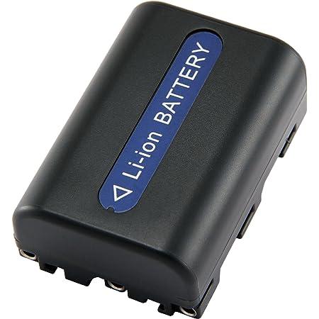 Powery Cargador de bater/ía para Sony NP-FM70