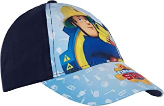 Fireman Sam Boys Baseball Cap Kids Character Summer Peaked Adjustable Sun Hat