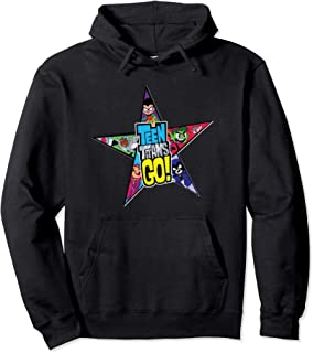 DC Comics Teen Titans Go Star Logo Sweat à Capuche