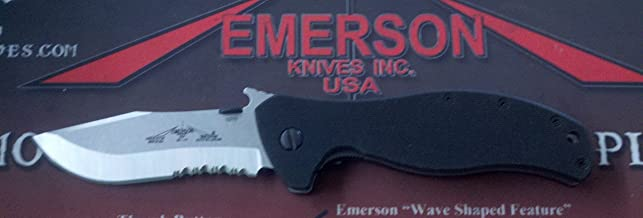 product image for Emerson Vindicator SFS with Partial Serrated Stonewashed Blade
