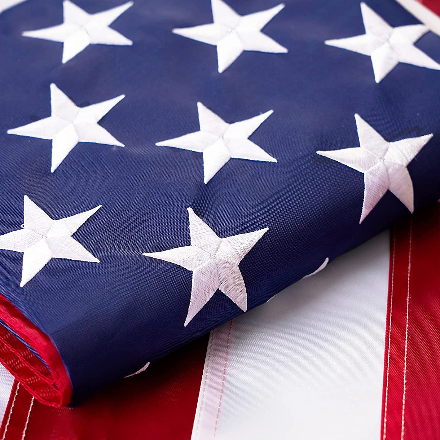 Homissor Durable American Rapid rise Flag 4x6 USA Duty Embroidered At the price Heavy -