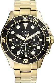 FB-03 Reloj de cuarzo de acero inoxidable para hombre