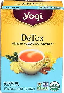 Yogi Herbal Tea Bags, Detox 16 ea