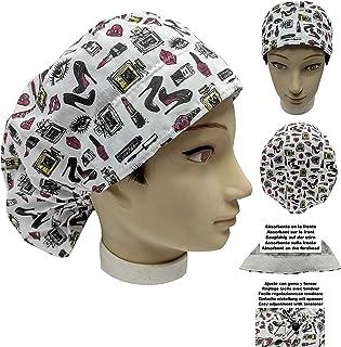 Cappello chirurgico Donna ACCESSORI DI BELLEZZA per Capelli Lunghi, veterinario, dentisti, cucina, asciugamano davanti, re...