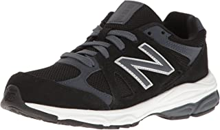 New Balance Boys KJ888 Suede, Black, Size 7 M Toddler