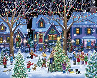 Vermont Christmas Company Christmas Cheer Jigsaw Puzzle 1000 Piece