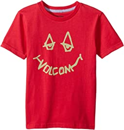 Volcom Kids - Chill Face Short Sleeve Tee (Toddler/Little Kids)