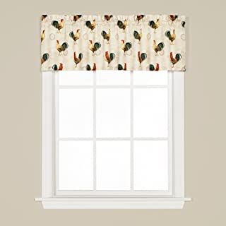 SKL Home by Saturday Knight Ltd. Tuscan Morning Valance, Multicolored, 57 inches x 13 inches