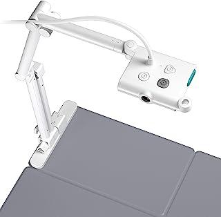 OKIOLABS OKIOCAM T A3 USB書画カメラ Zoom Skype Google Meet対応 オンライン授業 個別指導 Web会議 テレワーク 実物投影機 QHD 1944p(台湾製)