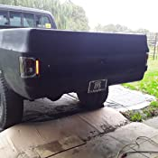 Roll Pan for GMC C//K FULL SIZE P//U 75-86 REAR w//License Plate Holes w//Hardware and Light Kit
