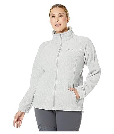 Columbia Plus Size Benton Springstm Full Zip (Cirrus Grey Heather/Grill) Women