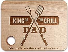 Tagliere Personalizzato, Regalo Festa del Papà - Tagliere in Legno, Kitchen Decor