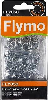 Flymo FLY058 - Juego de púas metálicas para rastrillos