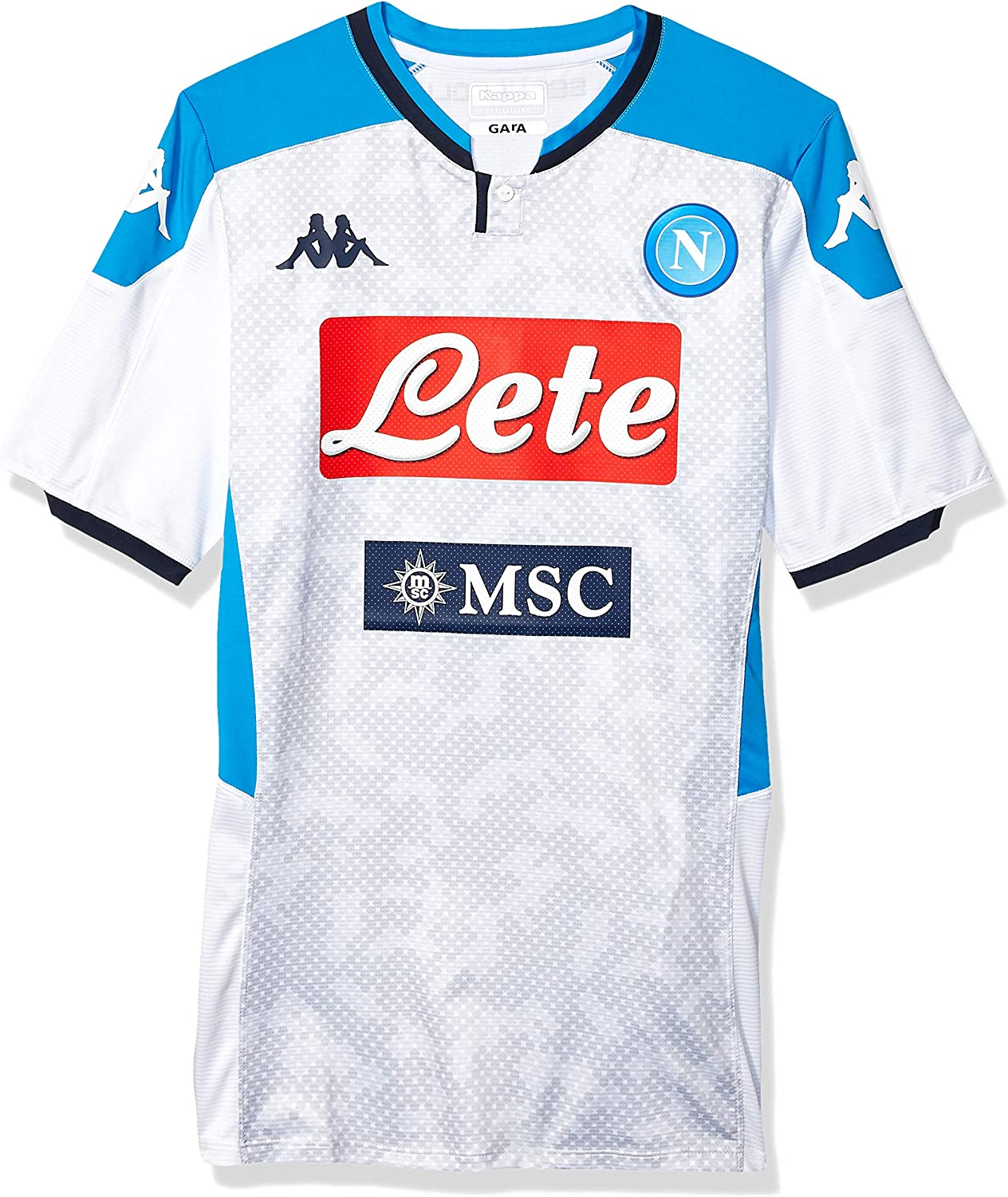 Amazon Com Ssc Napoli Men S Third Match Shirt 2019 2020 Clothing