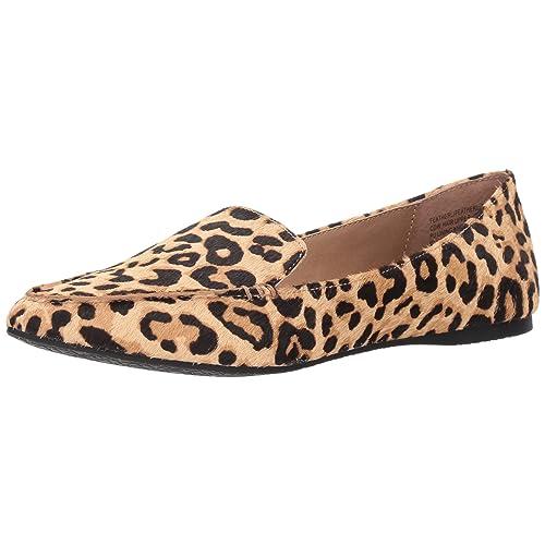 1ec209ae6df0 Steve Madden Women's FEATHERL Loafer Flat