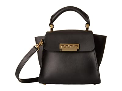 ZAC Zac Posen Eartha Iconic Top-Handle Mini (Black) Top-handle Handbags