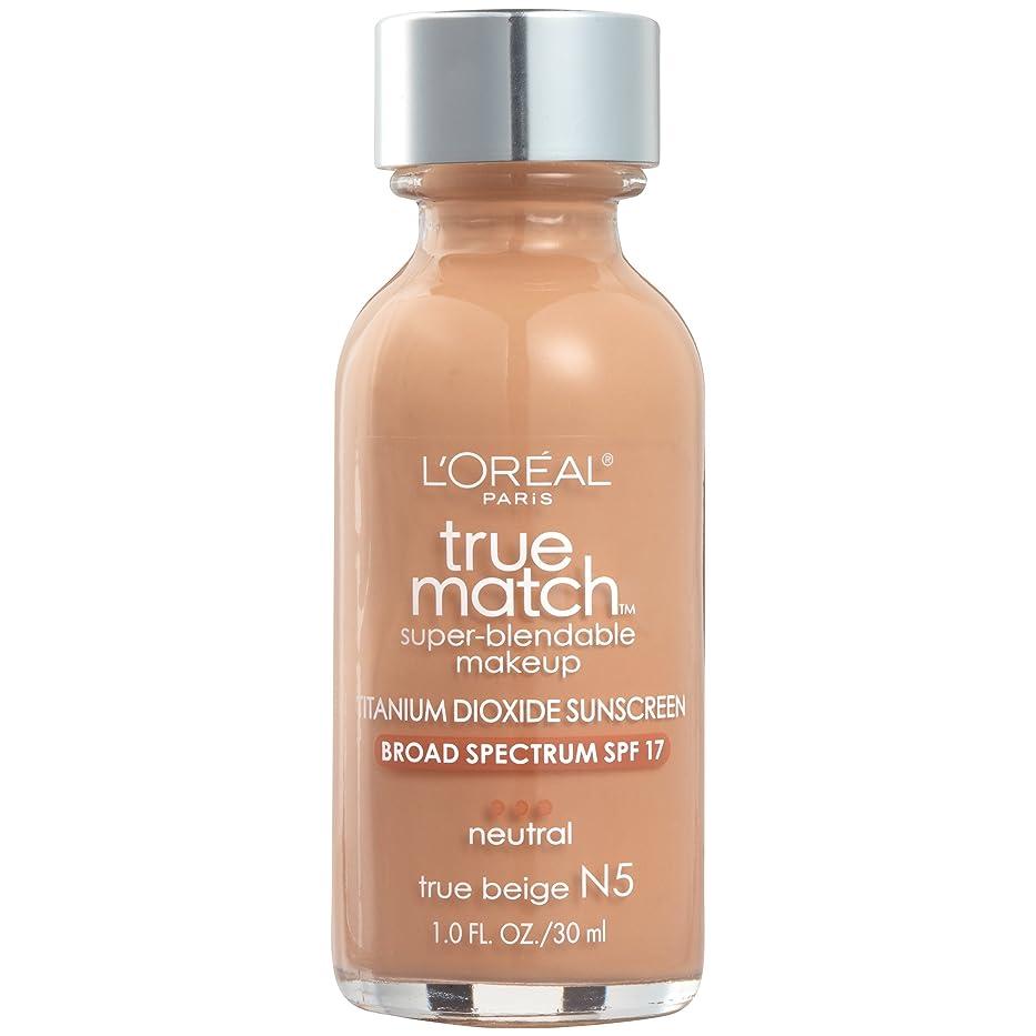 栄光の計り知れない運河True Match Super Blendable Makeup SPF 17 - # N5 True Beige