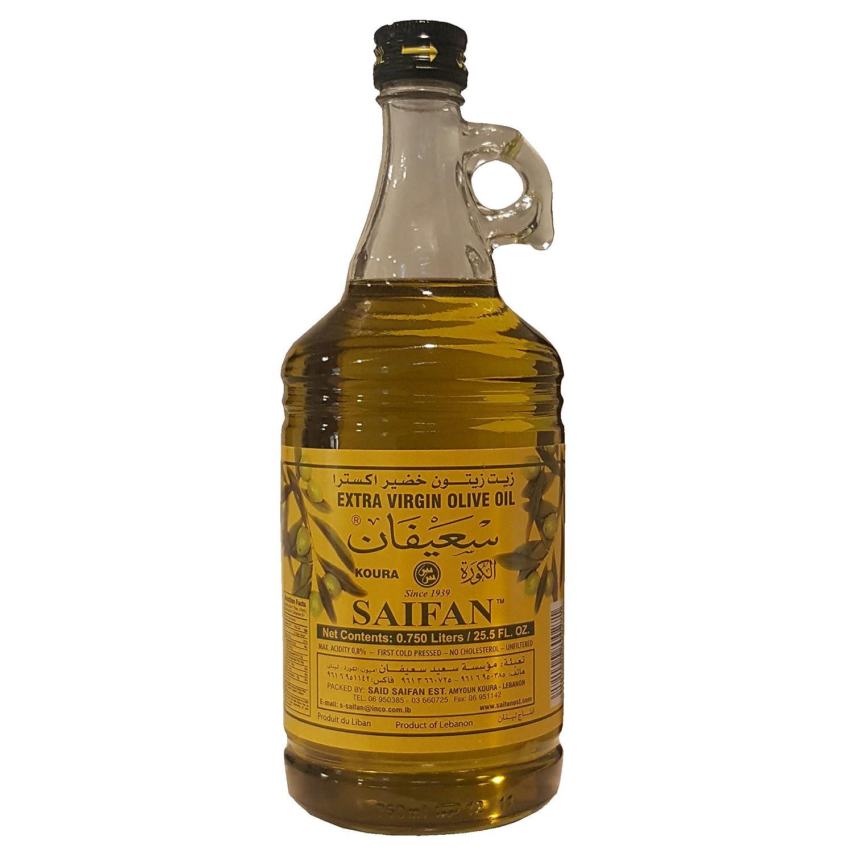 Saifan Extra Virgin Olive Direct 35% OFF stock discount Oil Liters 0.750 25.5 OZ. FL.