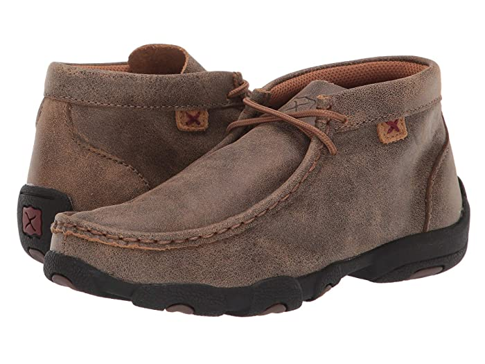 Twisted X  Driving Moc (Little Kid/Big Kid) (Bomber/Bomber) Shoes