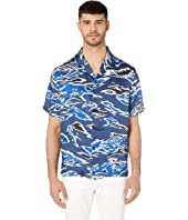 Versus Versace - Camo Short Sleeve Button Down