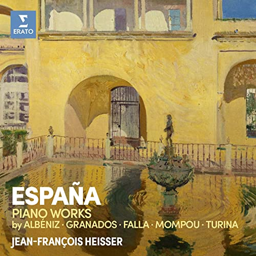 España: Spanish Piano Works de Jean-François Heisser en Amazon ...