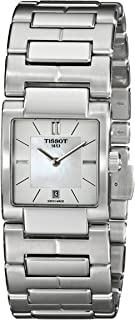 ساعة تيسو النسائية TIST090310111100 T2 انالوج بعقارب 1100 - كوارتز سويسرية فضية