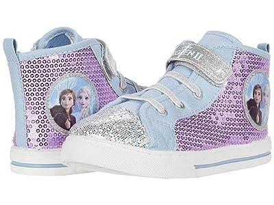 Josmo Kids Frozen Canvas Sneaker (Toddler/Little Kid) (Purple/Blue) Girl