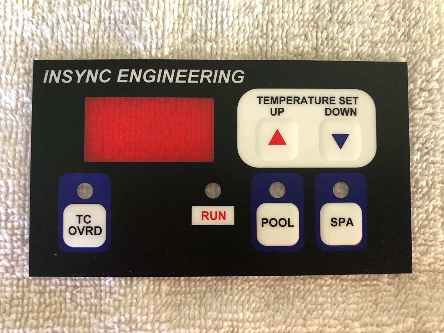 Super sale period limited INSYNC ENGINEERING Compatible keypad HPX26024140 Hayward Con mart for
