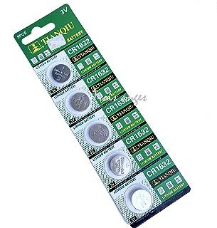 Trois Anges TIANQIU 天球 CR リチウム ボタン電池 全10種 (CR1632 1シート 5個)