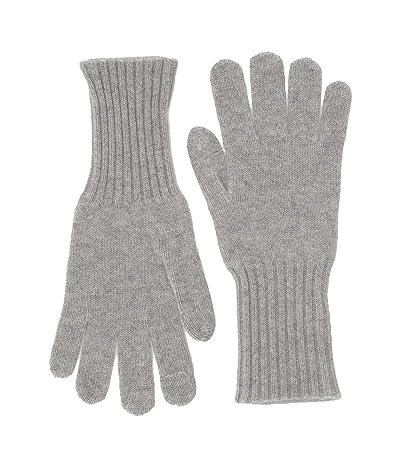 J.Crew Cashmere Gloves (Heather Grey) Dress Gloves