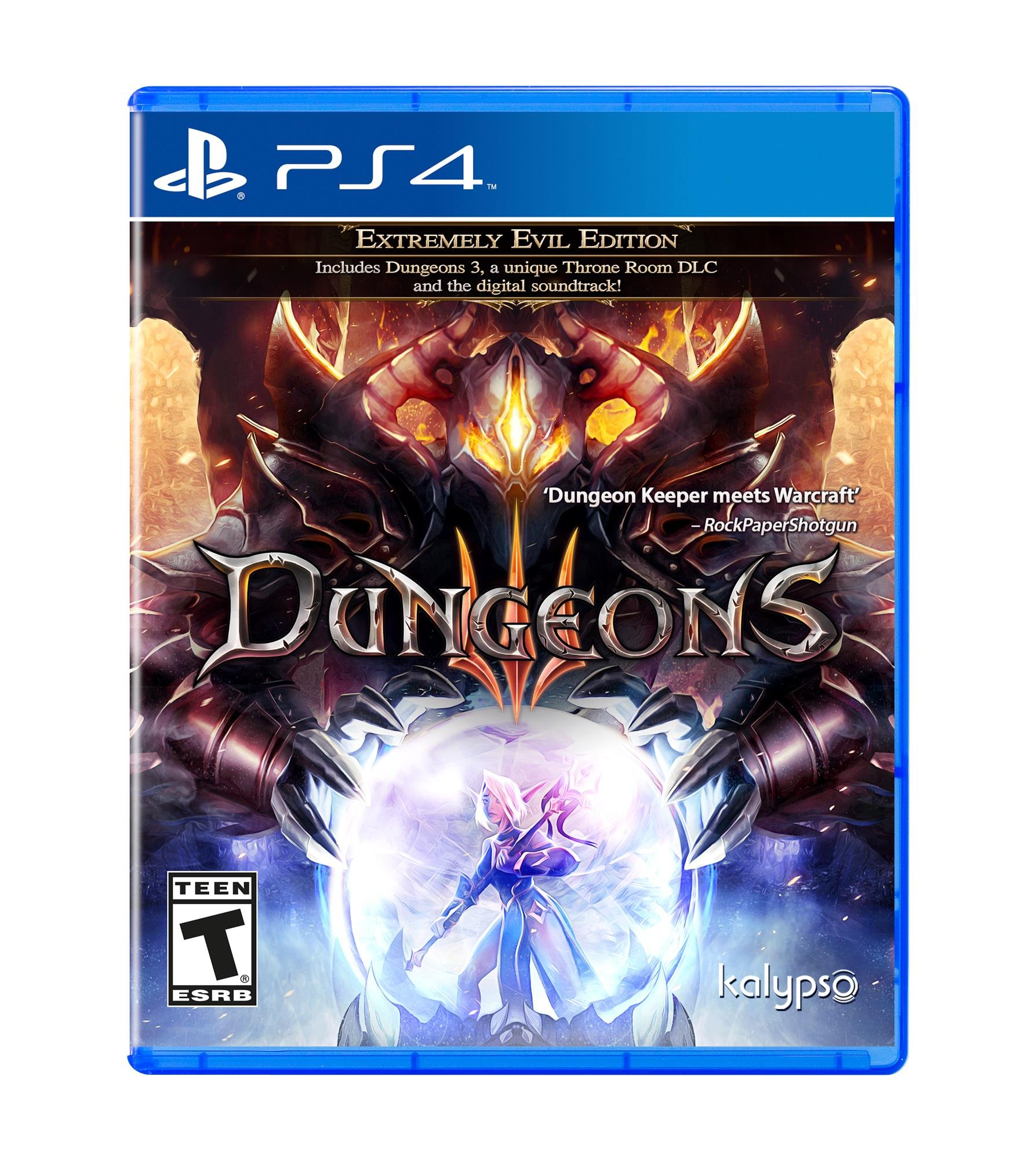 Amazon Com Dungeons 3 Playstation 4 Kalypso Media Usa Inc Video Games
