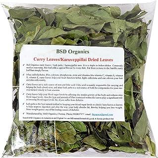BSD Organics Curry Leaves/Karuveppillai Dried Leaves Granules - 100 G