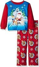 Rudolph Baby Boys Red-Nosed Reindeer 2-Piece Fleece Pajama Set