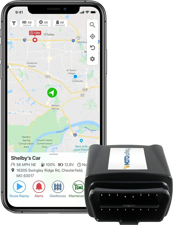 MOTOsafety OBD GPS Car Hidden Vehicle Tracker