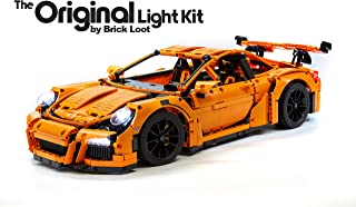 Brick Loot LED Lighting KIT for Your! Lego Porsche 911 GT3 RS Set 42056 (NO Lego Set Included)