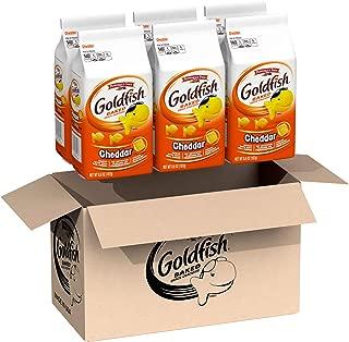 Pepperidge Farm, Goldfish, Crackers, Cheddar, 6.6 oz., Bag, 6-count