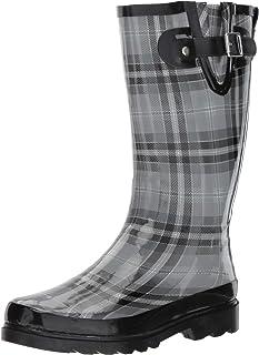 Women's Printed Tall Waterproof Rain Boot