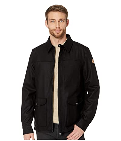 Fjallraven Greenland Re-wool Shirt Jacket (Black) Men