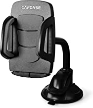 Capdase Dashboard & Windshield Car Mount Phone Holder for iPhone X 8 Plus 7 6s SE Samsung Galaxy S9 S8 Edge S7 S6 Note 8 & Other Smartphone