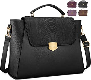 Briefcase for Women 15.6 Inch Laptop Messenger Bag Tote Bag for Office Travel
