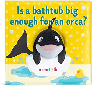 Munchkin Soapy Stories Finger Puppet Bath Book, Orca