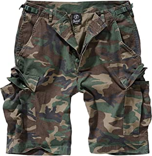 BDU Ripstop Short Pantalones Cortos Camuflaje Oscuro