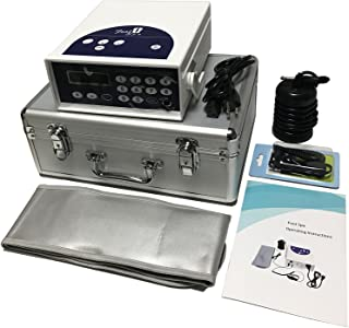 Zinger Ionic Foot Bath Detox Machine System, Chi Aqua Ionic Ion Foot Detox Bath Cleanse