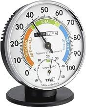 TFA Dostmann precisie-thermo-hygrometer, 45.2033, voor het regelen van het binnenklimaat, analoog, met comfortzones, contr...