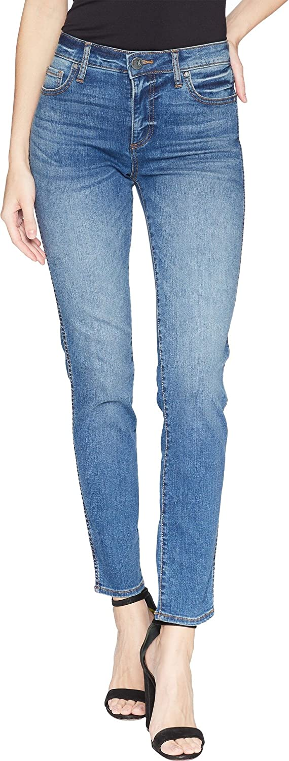 KUT from the Kloth Women's Diana Fabric Ab Skinny Legs FivePocket in Meditate Meditate 0 30