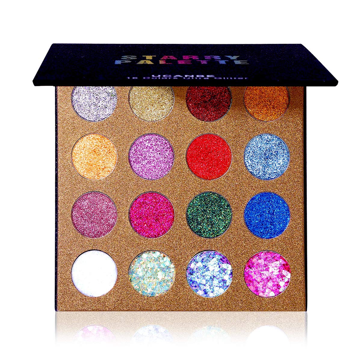 UCANBE Pro Glitter Eyeshadow Palette Store - Colors Ranking TOP10 16 Professional