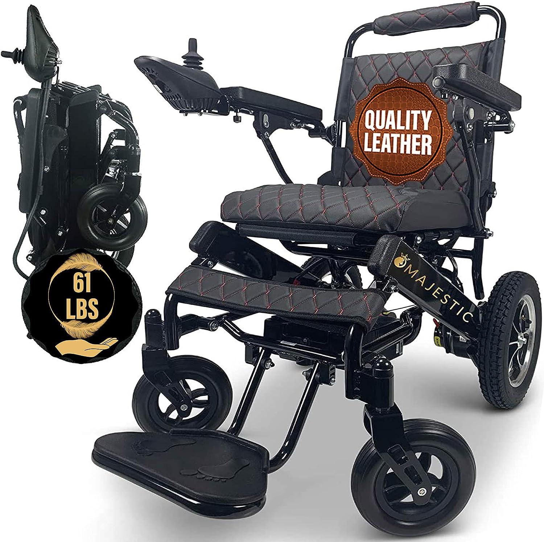 MALISA Electric Discount mail order Wheelchair for Cheap bargain Adults All Ligh Terrain Portable