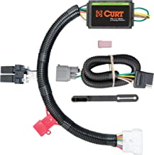 CURT 56170 Vehicle-Side Custom 4-Pin Trailer Wiring Harness for Select Honda Pilot