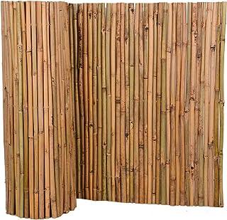 Nature by Kolibri - Estera de bambú para protección visual de terraza, balcón y jardín